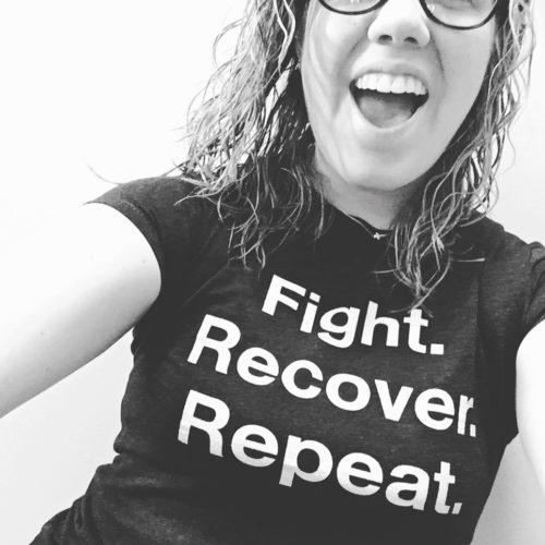 recovery tshirt