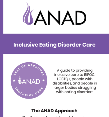 ANAD Inclusive Care Guide